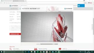Baixar AutoCad (2014 a 2017) - versão de estudante - licença Gratuita por 3 Anos.