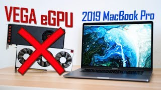 DON'T Buy an eGPU for your 2019 MacBook Pro!