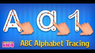 ABC Alphabet Tracing - A fun way to learn writing letters for your kids