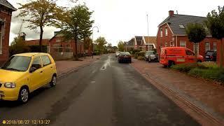 Groningen to Appingedam (Luddeweersterweg Luddeweer-Tolweg Tjuchem) 27-08-18 Part 3/4