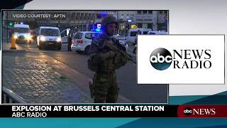An explosion occurred today at Brussels Central Station in Brussels...