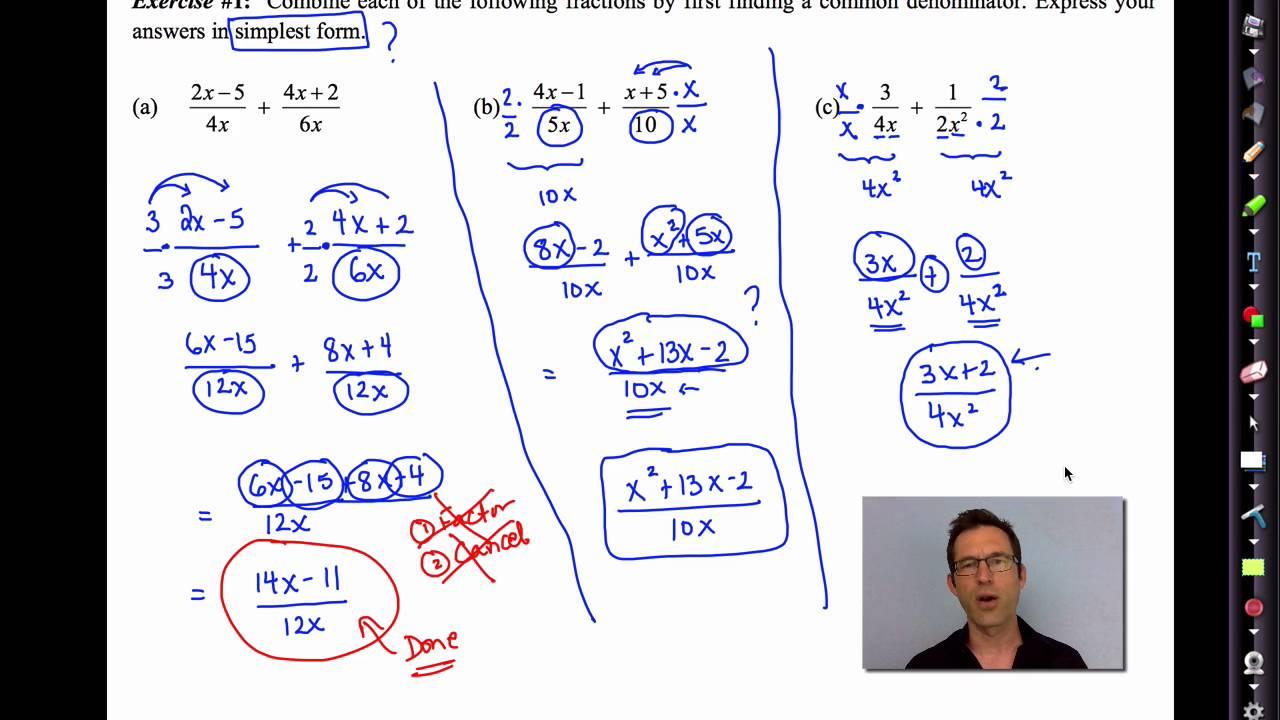 Common core algebra 2 unit 11 lesson 2 homework answers