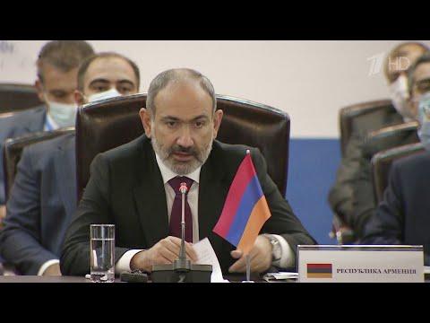 Азербайджан и Армения согласовали перемирие в Нагорном Карабахе.