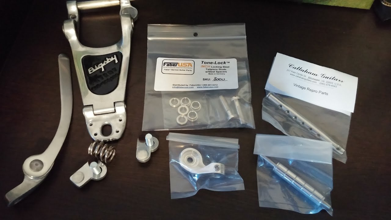 Bigsby Install and Tips with Callaham and Faber parts by NYC LP Player