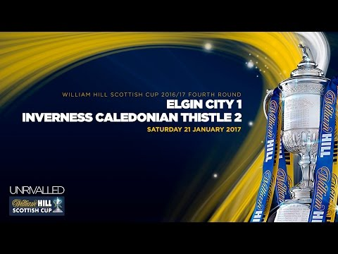 Elgin City 1-2 Inverness Caledonian Thistle | William Hill Scottish Cup 2016-17 Fourth Round