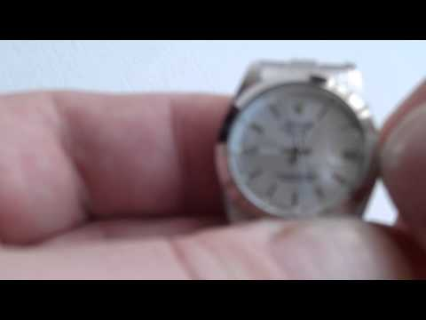 Novelty Rolex Watch - How to Set Date, Time and Wind (Silver Effect)