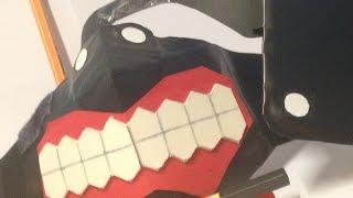 Tokyo Ghoul Mask Tutorial / How to Make: Tokyo Ghoul Kaneki's Mask Ver. 2.0 Part 1
