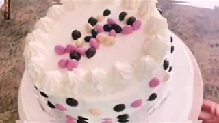 Cách làm bánh kem và bánh bông lan Việt Nam // Birthday cake Vietnam