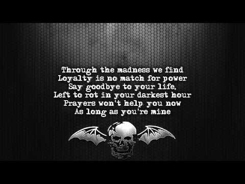 Avenged Sevenfold - Not Ready To Die [Lyrics on screen] [Full HD]