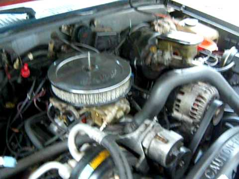 4 3 Chevy Tbi Control Wiring Diagram S10 4 3 Conversion Youtube