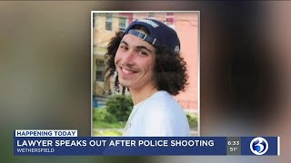 VIDEO: Family of teen killed in Wethersfield officer-involved shooting to speak