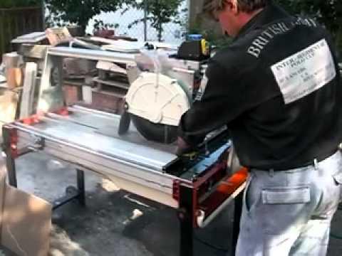 Raimondi Spa Sms 100 Bridge Wet Saw Porcelain Tile Cut