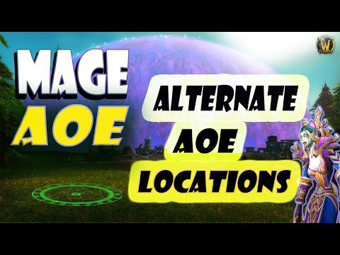 Classic WoW Mage AoE Locations - Detailed Guide in works and coming soon!