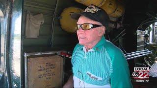 World War II gunner takes flight once again