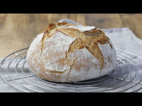 Recept za DOMAĆI HLEB sa starterom (sourdough bread) - Milin Kuvar