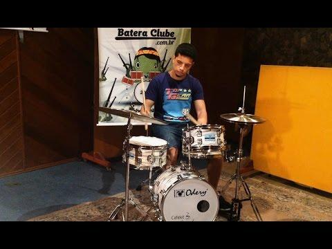 Bateria Odery Cafekit Polar Tiger (Mini Kit) Sound Check Drum Set