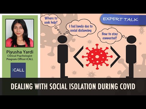 Social Isolation In COVID | Loneliness In Pandemic | Mental Health Helpline