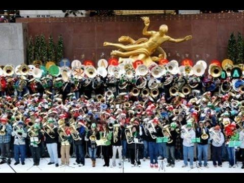 Tuba Christmas.Tuba Christmas Nyc 2013