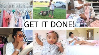 CLEAN WITH ME | COOK WITH ME | SHOP WITH ME | MEAL PREP | SAHM 2019 | GET IT ALL DONE | CRISSY MARIE