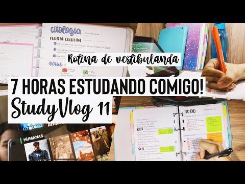 SUPER StudyVlog! | 7 horas estudando comigo! | Ana's Studies