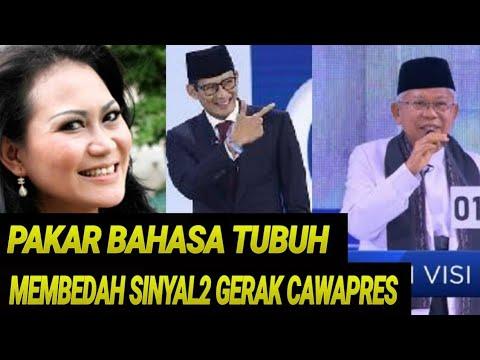 DEBAT CAWAPRES 2019;GAYA SANDIAGA UNO JANGKAU ALAM BAWAH SADAR;PILPRES 2019;SANDIAGA UNO;