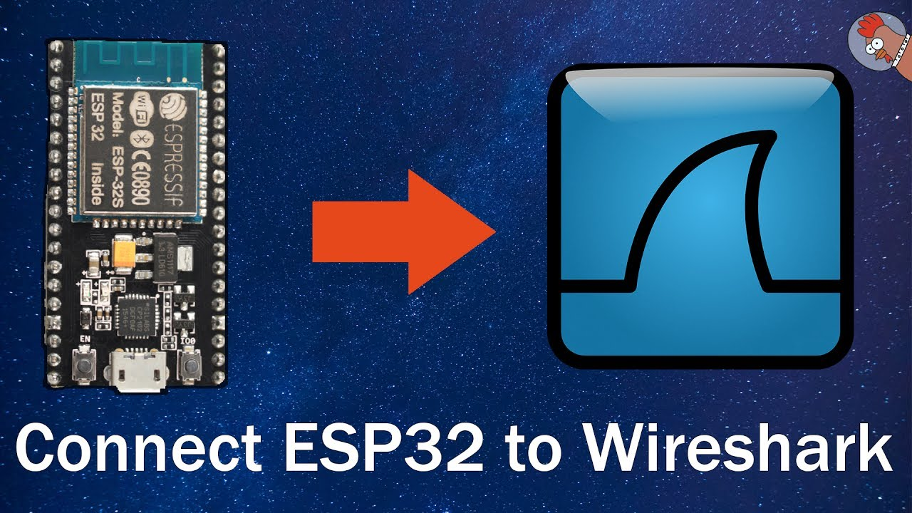 Sniffing WiFi with ESP32 & ESP8266 in Wireshark