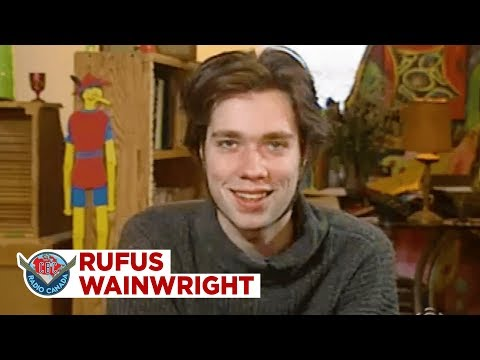 All that laziness pays off for Rufus Wainwright, 1996