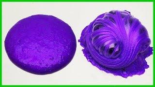 Mor Renkli Hologram Slime, Purple Hologram Slime, Jokerleme