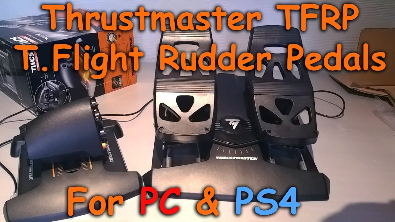 Thrustmaster TFRP T-Flight Rudder Pedals PC/PS4