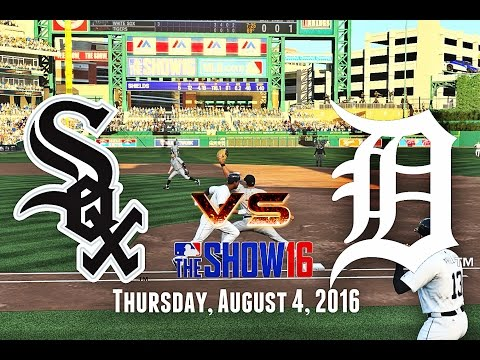GETTING TO THE BULLPEN! (Chicago White Sox @ Detroit Tigers) MLB The Show 16 Franchise Mode