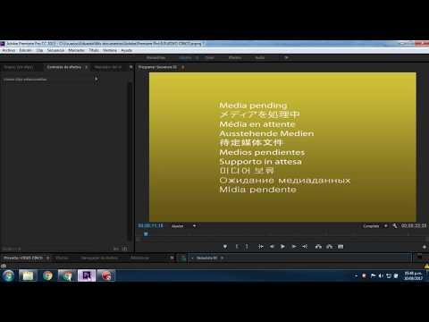 Error Media Pending Adobe Premiere Pro FAST SOLUTION