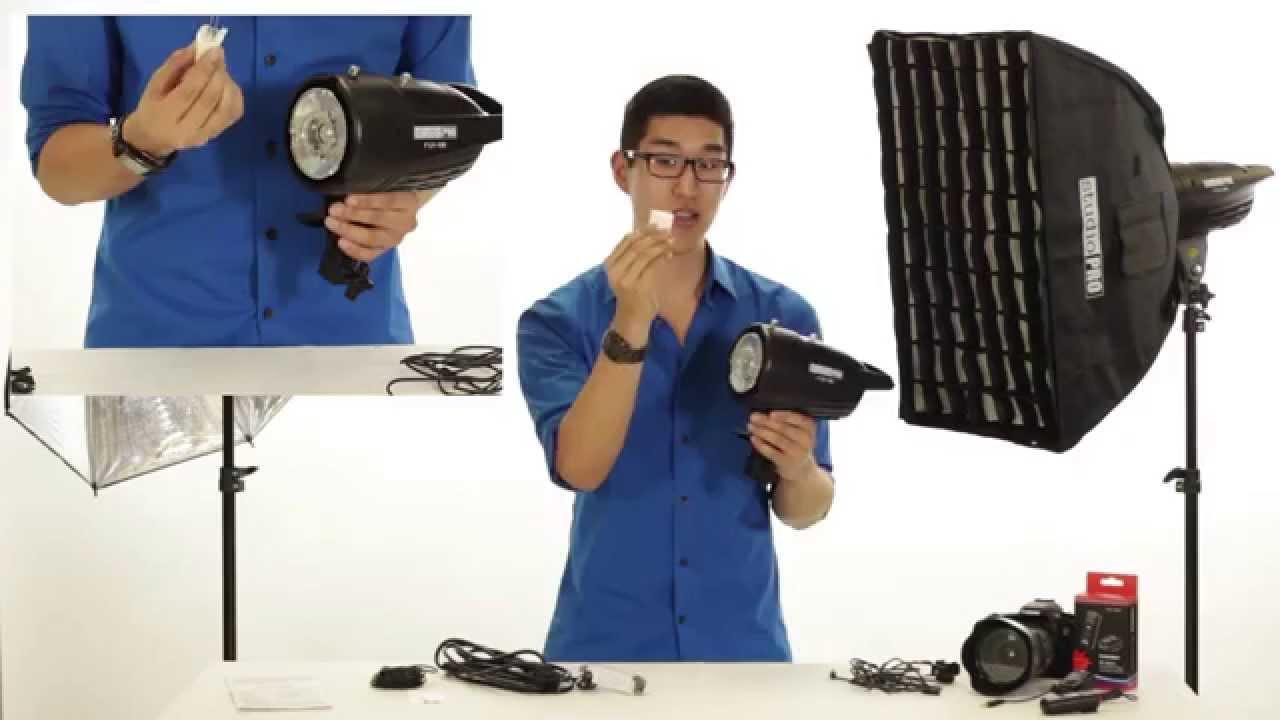 Studiopro 100ws 150ws 200ws Monolight Flash Strobe