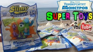 Университет Монстров:Каникулы на Море, Фигурки и Слизь/Toy Monsters University Kinder Surprise