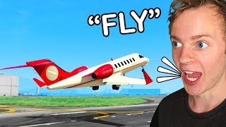 GTA 5 - Can I Fly a Plane Using ONLY My Voice?