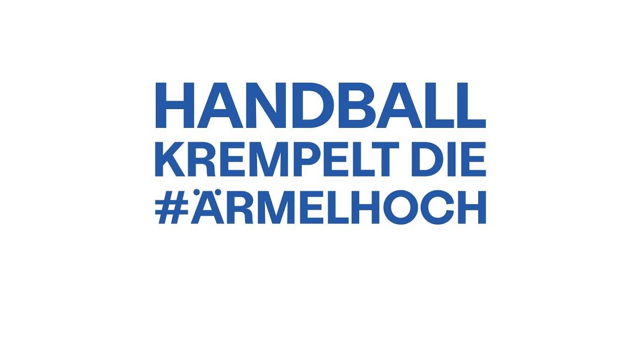 Wir krempeln die #ÄRMELHOCH! | Zusammen gegen Corona | Der Handball krempelt die #ÄRMELHOCH
