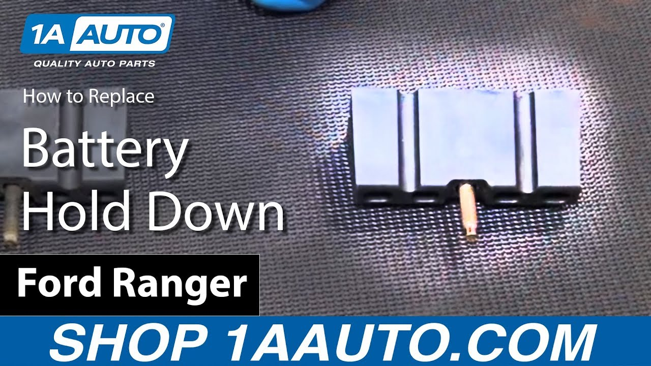 How to Install Replace Battery Hold Down 1989-08 Ford Ranger BUY ...