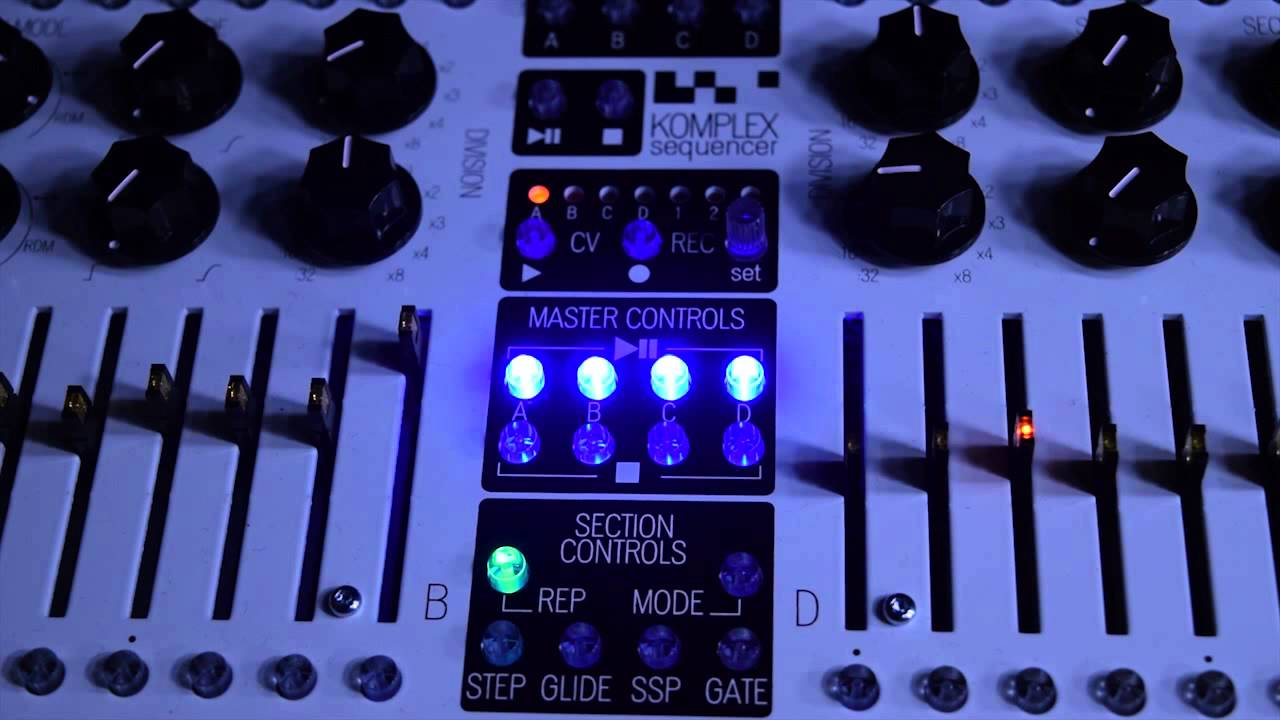 KOMA Elektronik Komplex Sequencer - Multitimbral MIDI Song