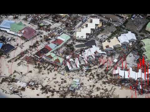 President Trumps and Richard Bransons Caribbean homes destroyed by Hurricane Irma