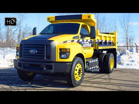 VIDEO: 2016 Ford F-750 Tonka Dump Truck Design HD