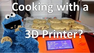 Cooking With A 3D Printer : Chocolate Chip Cookies