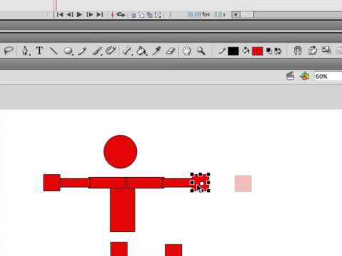 Making a Running Character in Adobe Flash Using Inverse Kinematics