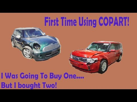 Losing My Copart Viginity....But Instead Of Buying 1 I Bought 2!!!