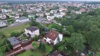 Pustachowa Gniezno po nawałnicy 11-12 sierpnia 2017