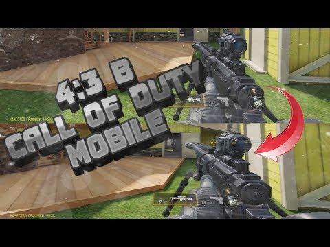 Как сделать 4:3 в Call Of Duty Mobile