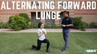 Exercise #5 - Alternating (ALT) Forward Lunge