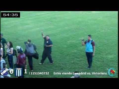 Victoriano Arenas campeón - Final del partido