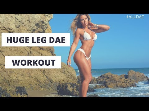 TAMRA DAE - HUGE LEG DAE WORKOUT