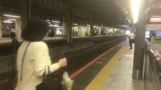 中央線E233系快速東京行き発車とE353系回送列車到着(ミュージックホーン付き)