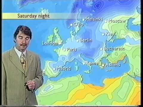 BBC Weather 15th November 1999: Hurricane Lenny