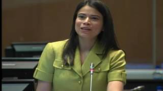 Esther Cuesta - Sesión 460 - #AcuerdoParís - II Intervención